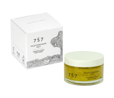 757 Natural Cosmetics Valley Down South 70g - Tělový peeling s vůní pomeranče a citronu