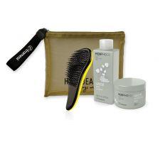 Balíček Framesi Green - Šampon 250ml + Maska 200ml + Kartáč