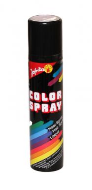 Farba na vlasy v spreji 100ml - strieborná celoplošná Dreck