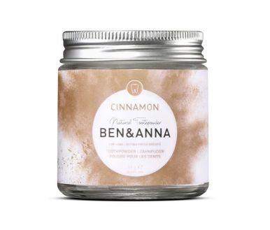 Ben & Anna Bieliaci zubný prášok so škoricou 45g