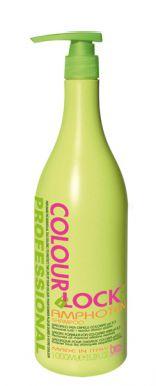 BES Colour Lock Amphoten Shampoo 1000ml - amfotérny šampón s pH 5,5 po farbení