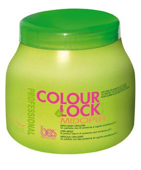 BES Colour Lock Midopla Hair Mask 1000ml - Rekonštrukčná maska