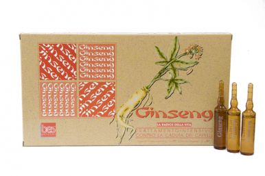 BES Ginseng Ampule 12x10ml - Proti padaniu vlasov