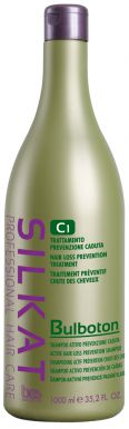 BES Silkat Bulboton C1 1000ml - Šampón proti padaniu vlasov