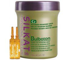 BES Silkat Bulboton C2 12x10ml - Ampule proti padaniu vlasov