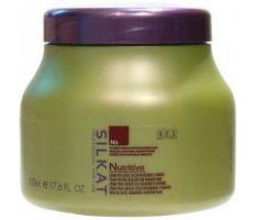 BES Silkat Nutritivo Creme 1000ml - Maska na poškodený vlas