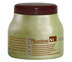 BES Silkat Nutritivo Creme 500ml - Maska na poškodený vlas