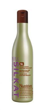 BES Silkat Nutritivo Shampoo N1 300ml - Šampón na suché a rozštiepené vlasy