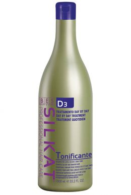 BES Silkat Tonificante Shampoo 1000ml - Šampón k regenerácii narušených suchých vlasov