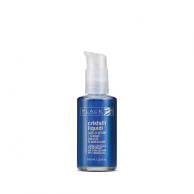 Black Cristalli Liquidi 100ml - Ošetrenie narušených a poškodených vlasov