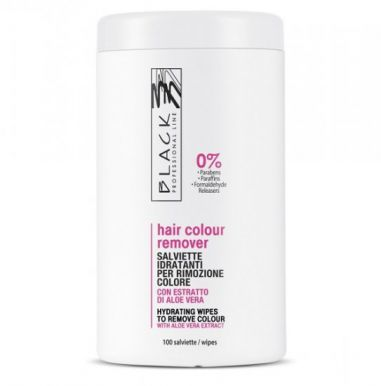 Black Hair Color Remover 100 kusů - Čistiace utierky