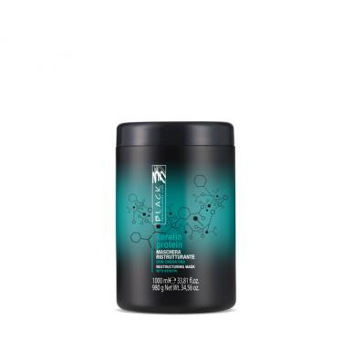 Black Keratin Protein Mask 1000ml - Keratínová maska pre oslabené vlasy