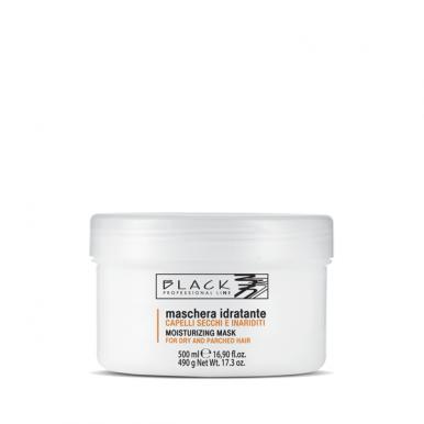 Black Moisturizing Mask 500ml - Hydratačná maska pre suchý a poškodený vlas