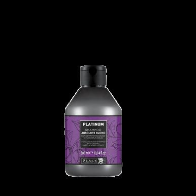Black Platinum Absolute Blond Shampoo 300ml -  Šampón s extraktom z organických mandlí