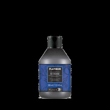 Black Platinum No Orange Shampoo 300ml -  Šampón proti oranžovým tónom