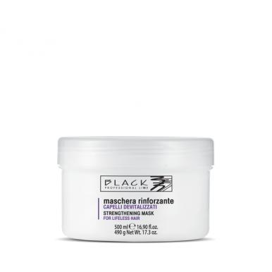 Black Strengthening Mask 500ml -Posilňujúca regeneračná maska pre slabé vlasy