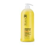 Black Virgin Oil Shampoo 1000ml - Jemný hydratačný olejový šampón