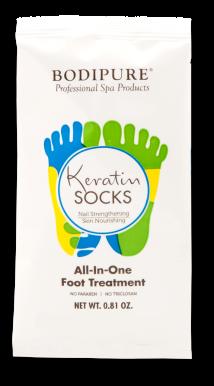 Bodipure keratínové ponožky