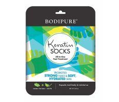 Bodipure keratínové ponožky - Sada s pilníkom