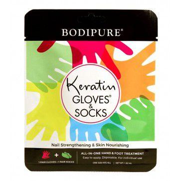 Bodipure keratínové rukavice a ponožky