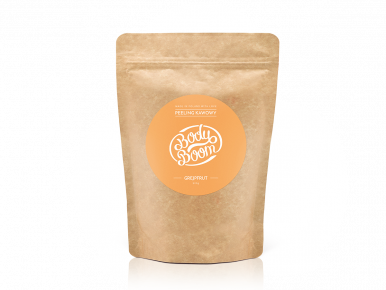 Body Boom Energetic Grapefruit Coffee Scrub 30g - Kávový peeling