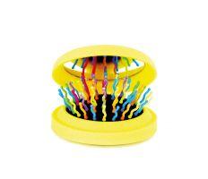 Brush Rainbow Pocket - Skládací kartáč se zrcátkem