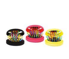 Brush Rainbow Pocket - Skladacia kefa so zrkadielkom