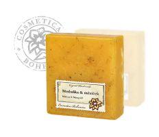 Cosmetica Bohemica - Mýdlo glycerinové Meduňka a měsíček 105g