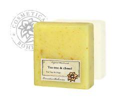 Cosmetica Bohemica - Mýdlo glycerinové Tea Tree a chmel 105g