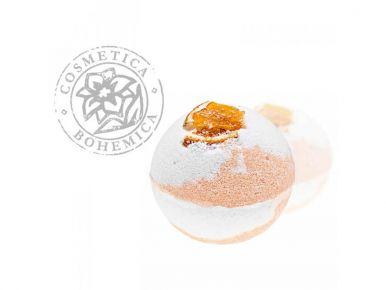 Cosmetica Bohemica - Šumivé gule do vane Citrus Garden 100g