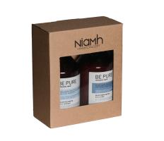 Dárkový balíček - Niamh Be Pure Detox šampón 500ml + Detox maska 500ml