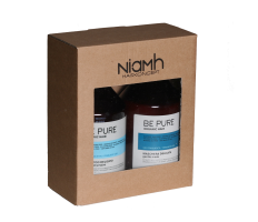 Dárkový balíček - Niamh Be Pure Gentle šampón 500ml + Gentle maska 500ml