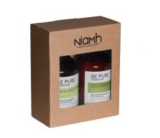 Dárkový balíček - Niamh Be Pure Nourishing šampón 500ml + Nourishing maska 500ml