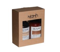 Dárkový balíček - Niamh Be Pure Restore šampón 500ml + Restore maska 500ml