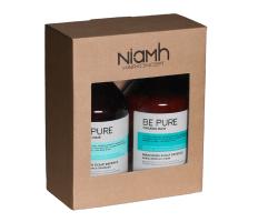 Dárkový balíček - Niamh Be Pure Scalp Defence šampón 500ml + Scalp Defence maska 500ml