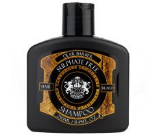 Dear Barber Sulphate Free Shampoo 250ml - Šampón na vlasy a bradu