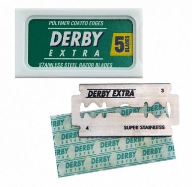 Derby Extra Stainless Double Edge - Žiletky 5ks