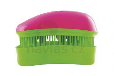 Dessata Mini Fuchsia - Lime - Profesionálna kefa na vlasy