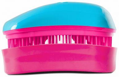 Dessata Mini Turquoise - Fuchsia - Profesionálna kefa na vlasy