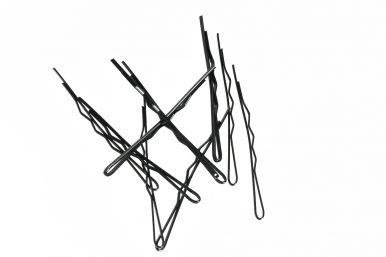 Duko vlasová sponka 526B čierna- 10ks