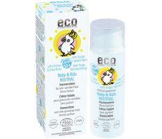 Eco Cosmetics Baby & Kids Sun Cream Neutral SPF 50+ 50ml - Detský opalovací krém BIO