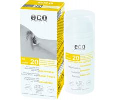Eco Cosmetics Sun Cream Neutral SPF 20 100ml - Opalovací krém bez parfumácie