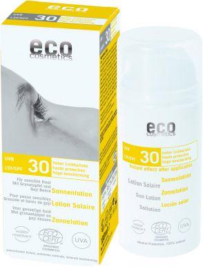 Eco Cosmetics Sun Cream Neutral SPF 30 100ml - Opalovací krém bez parfumácie