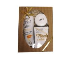 Farma Koza - Darčekový balíček (krém + mlieko)