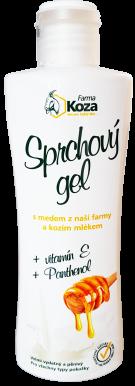 Farma Koza - Sprchový gél s medom a kozím mliekom 200ml