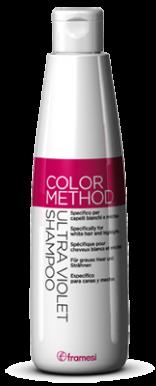 Framesi Color Method Ultraviolet 250ml - Šampón s potlačením žltého pigmentu