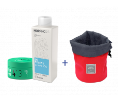Framesi_Duo Set 413 - Matt Me Clay 80ml + Destress šampón