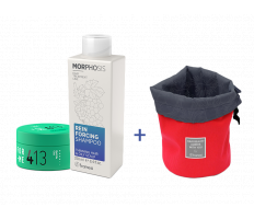 Framesi_Duo Set 413 - Matt Me Clay 80ml + Reinforcing šampón 250ml