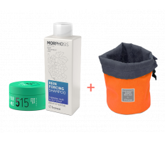 Framesi_Duo Set 515 - Matt Me Strongly Paste 80ml + Reinforcing šampón 250ml