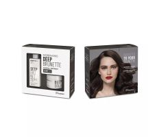 Framesi Morphosis Deep Brunette Set - Šampon + Maska pro hnědé vlasy
